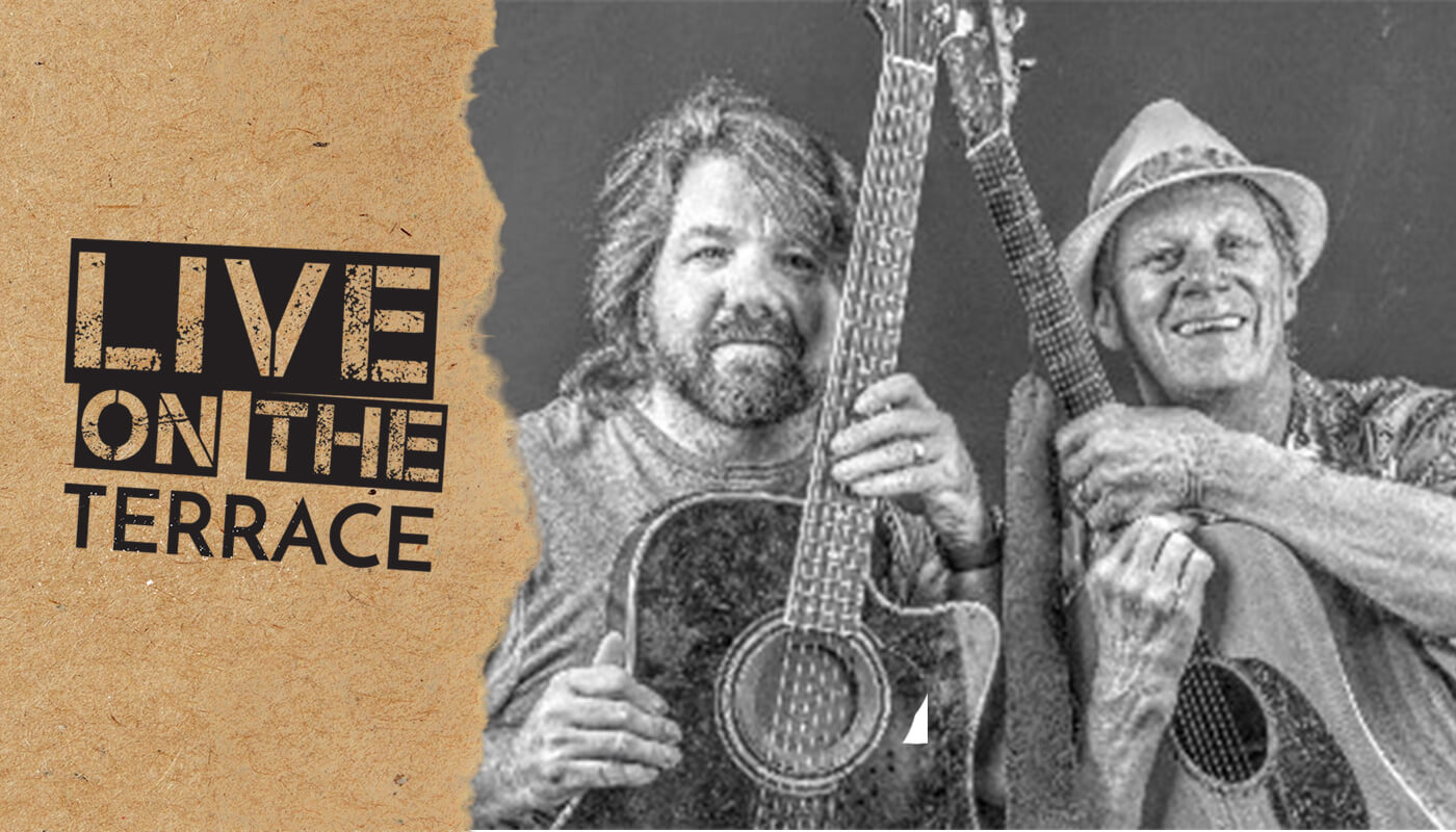 Live on the Terrace – The Rick~James~Duo